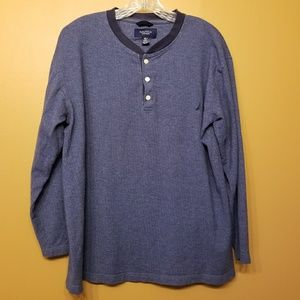 Nautica Sleepwear | Men's Long Sleeve Shirt (Med)